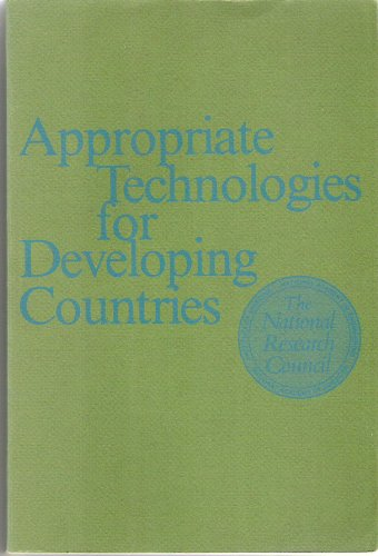 9780309026024: Appropriate Technologies for Developing Countries
