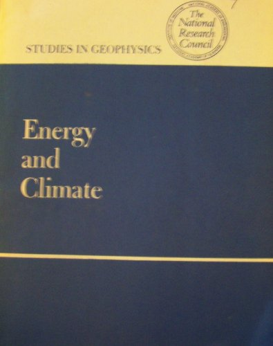 9780309026369: Energy and Climate (Studies in geophysics)