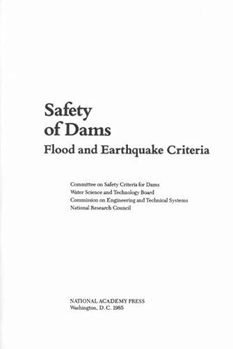 9780309035323: Safety of Dams: Flood and Earthquake Criteria