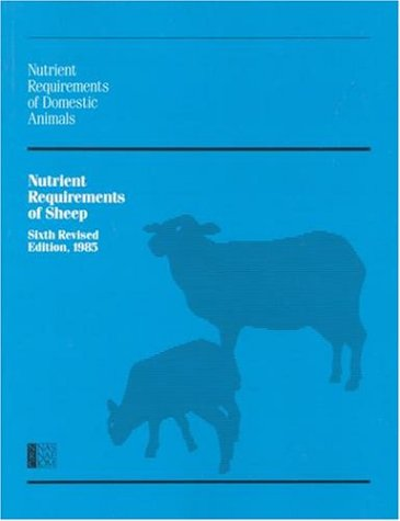 9780309035965: Nutrient Requirements of Sheep (Nutrient Requirements of Domestic Animals: A Series)