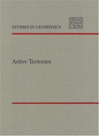9780309036382: Active Tectonics: Impact on Society (Studies in Geophysics)
