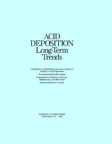 Acid Deposition: Long-Term Trends