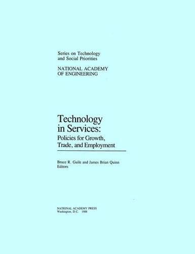 9780309038874: Technology in Services: Policies for Growth, Trade, and Employment (Series on Technology and Social Priorities)