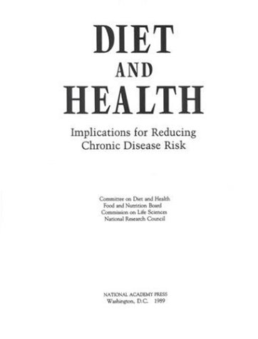 9780309039949: Diet and Health: Implications for Reducing Chronic Disease Risk