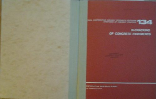 D-cracking of concrete pavements (Synthesis of highway practice / National Cooperative Highway...
