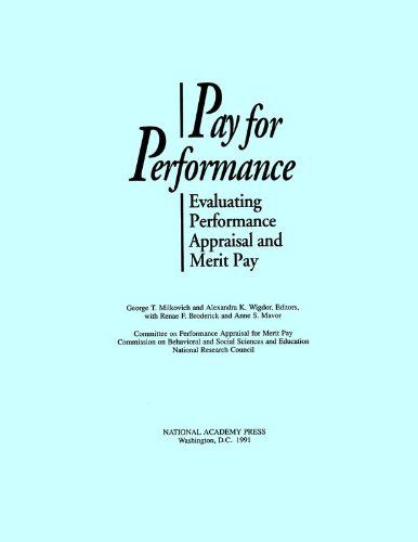 9780309044271: Pay for Performance: Evaluating Performance Appraisal and Merit Pay
