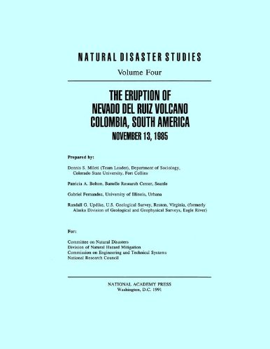 The Eruption of Nevado Del Ruiz Volcano: National Research Council;