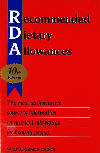 9780309046336: Recommended Dietary Allowances: 10th Edition (Dietary Reference Intakes)