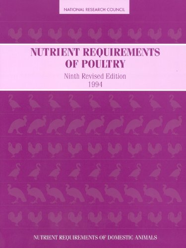 9780309048927: Nutrient Requirements of Poultry: Ninth Revised Edition, 1994 (Nutrient Requirements of Animals)