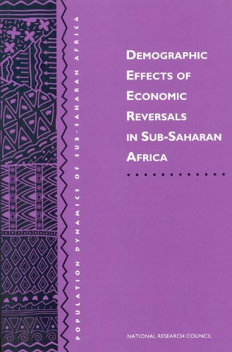 Demographic Effects of Economic Reversals in Sub-Saharan: Working Group on
