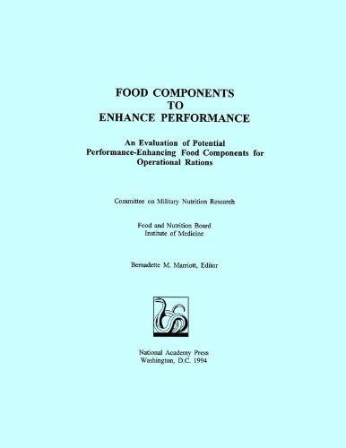 9780309050883: Food Components to Enhance Performance: An Evaluation of Potential Performance-Enhancing Food Components for Operational Rations