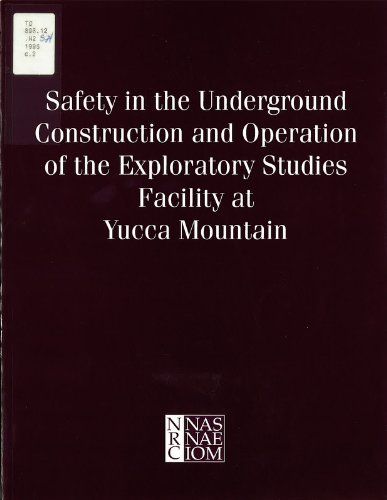 9780309052436: Safety in the Underground Construction and Operation of the Exploratory Studies Facility at Yucca Mountain (And Policy)