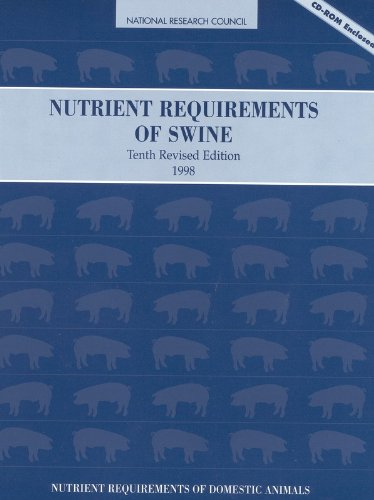 9780309059930: Nutrient Requirements of Swine: 10th Revised Edition (Nutrient Requirements of Domestic Animals: A Series)