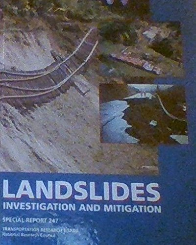 9780309061513: Landslides: Investigation and Mitigation : Special Report 247 (Special Report (National Research Council (U S) Transportation Research Board))