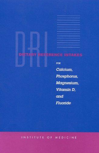 Dietary Reference Intakes: For Calcium, Phosphorus, Magnesium,: Institute of Medicine