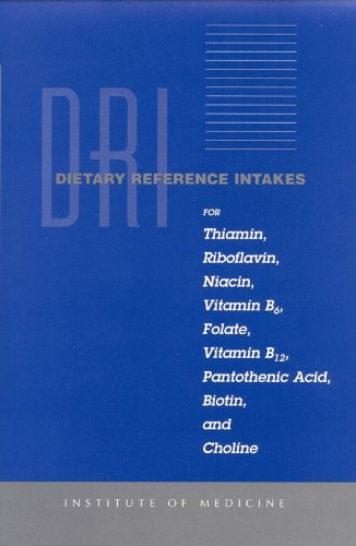 Dietary Reference Intakes for Thiamin, Roboflavin, Niacin, Vitamin B6, Folate, Vitamin B12, Panto...