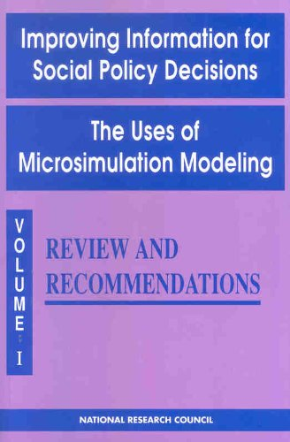 9780309073813: Improving Information for Social Policy Decisions - The Uses of Microsimulation Modeling: Volume I, Review and Recommendations (v. 1)