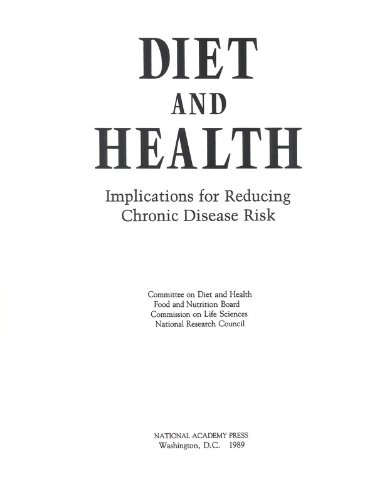 9780309074742: Diet and Health: Implications for Reducing Chronic Disease Risk