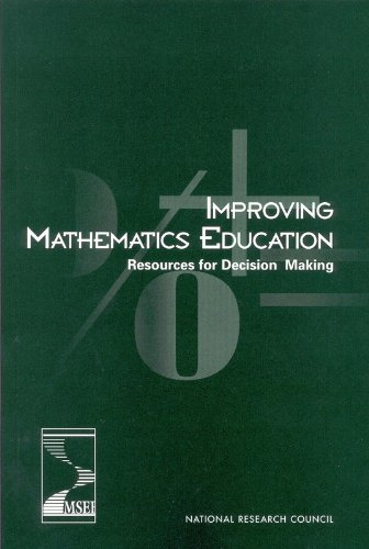 9780309083003: Improving Mathematics Education: Resources for Decision Making (Compass series)