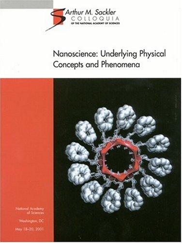 9780309084444: Nanoscience: Underlying Concepts and Phenomena (Sackler NAS Colloquium)