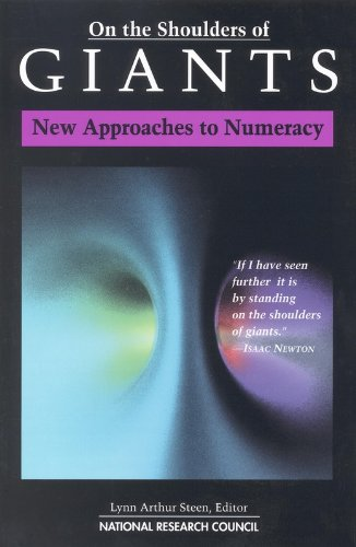9780309084499: On the Shoulders of Giants: New Approaches to Numeracy