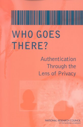 9780309088961: Who Goes There?: Authentication Through the Lens of Privacy