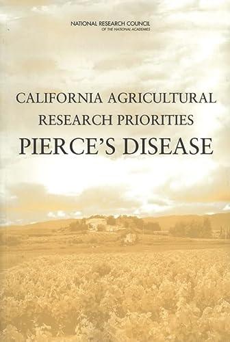 9780309092890: California Agricultural Research Priorities: Pierce's Disease