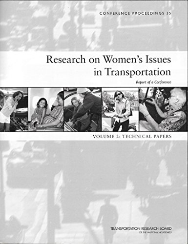 9780309093941: Research on Women's Issues in Transportation: Technical Papers: 2