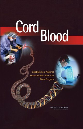 Cord Blood: Establishing a National Hematopoietic Stem: Institute of Medicine;