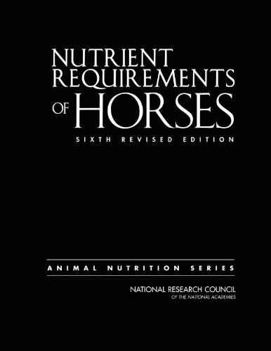 9780309102124: Nutrient Requirements of Horses: Sixth Revised Edition
