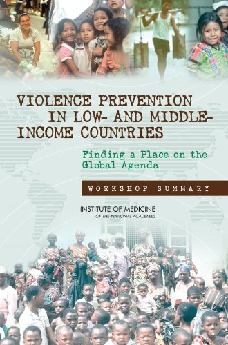 9780309112055: Violence Prevention in Low- and Middle-Income Countries: Finding a Place on the Global Agenda: Workshop Summary