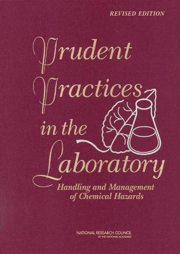 9780309138642: Prudent Practices in the Laboratory: Handling and Management of Chemical Hazards, Updated Version