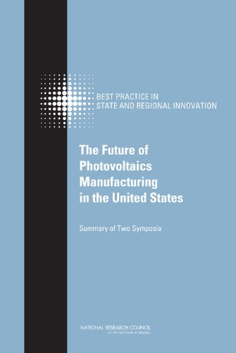 9780309142144: The Future of Photovoltaics Manufacturing in the United States: Summary of Two Symposia (Committee on Competing in the 21st Century: Best Practice in State and Regional Innovation Initiatives)