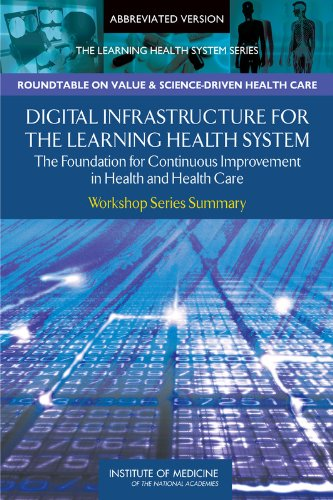 Digital Infrastructure for the Learning Health System: Institute of Medicine,