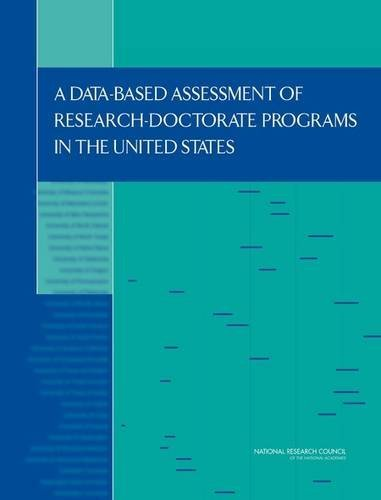 9780309160308: A Data-Based Assessment of Research-Doctorate Programs in the United States (with CD)
