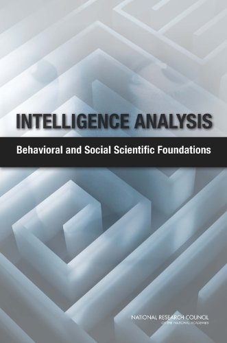 9780309176989: Intelligence Analysis: Behavioral and Social Scientific Foundations