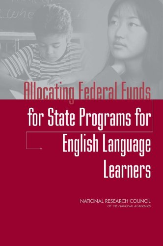 9780309186582: Allocating Federal Funds for State Programs for English Language Learners