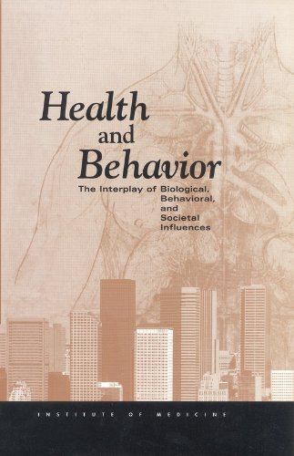 9780309187374: Health and Behavior: The Interplay of Biological, Behavioral, and Societal Influences