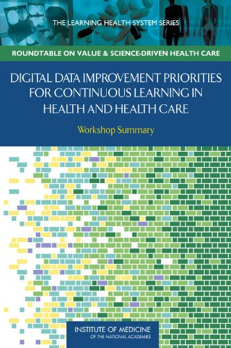 9780309259415: Digital Data Improvement Priorities for Continuous Learning in Health and Health Care: Workshop Summary (Learning Health System)