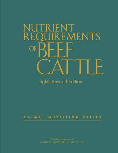 9780309317023: Nutrient Requirements of Beef Cattle: Eighth Revised Edition (Animal Nutrition)