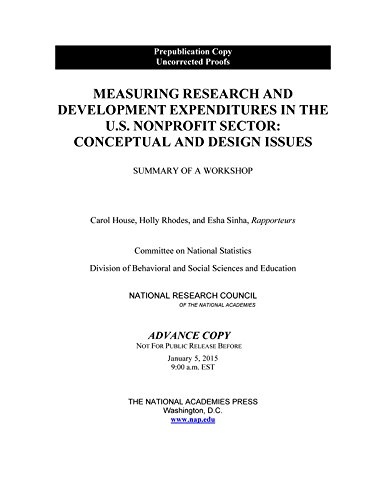 Measuring Research and Development Expenditures in the: National Research Council,
