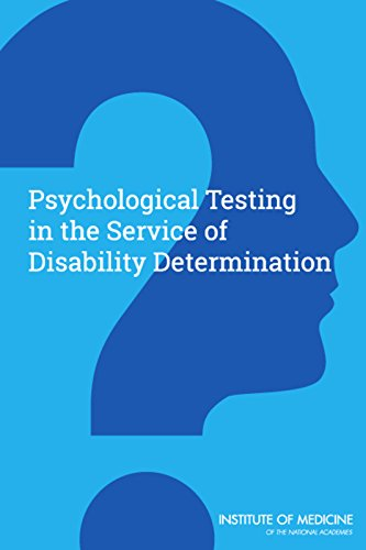 9780309370905: Psychological Testing in the Service of Disability Determination