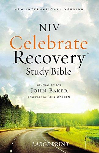 9780310081081: NIV, Celebrate Recovery Study Bible, Large Print, Paperback