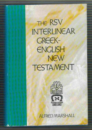 9780310204107: The RSV Interlinear Greek-English New Testament