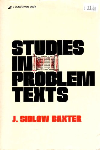 9780310207115: Studies in Problem Texts