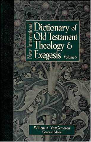 9780310213116: New International Dictionary of Old Testament Theology and Exegesis