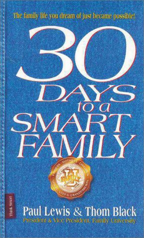 9780310215851: 30 Days to a Smart Family