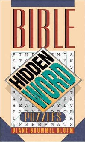 9780310216339: Bible Hidden Word Puzzles