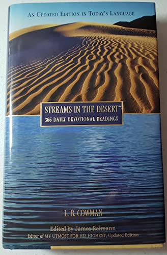 9780310217374: Streams in the Desert, 366 Daily Devotional Readings