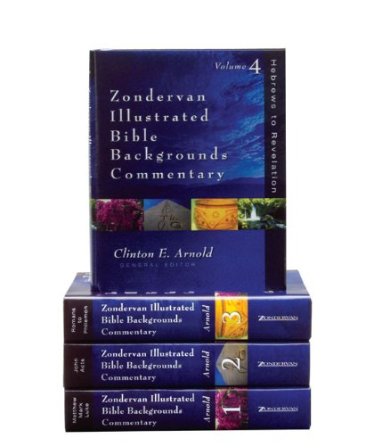9780310217404: Zondervan Illustrated Bible Backgrounds Commentary Set